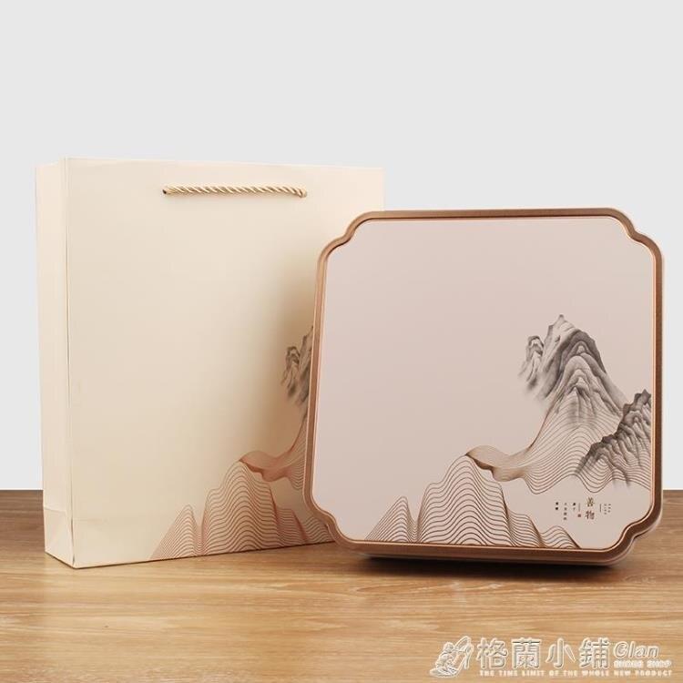 磨砂鐵盒茶餅包裝200g357g通用福鼎白茶雲南普洱茶收納禮品盒套裝【母親節禮物】