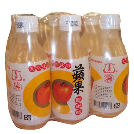 百家珍蘋果健康醋280mlx6入