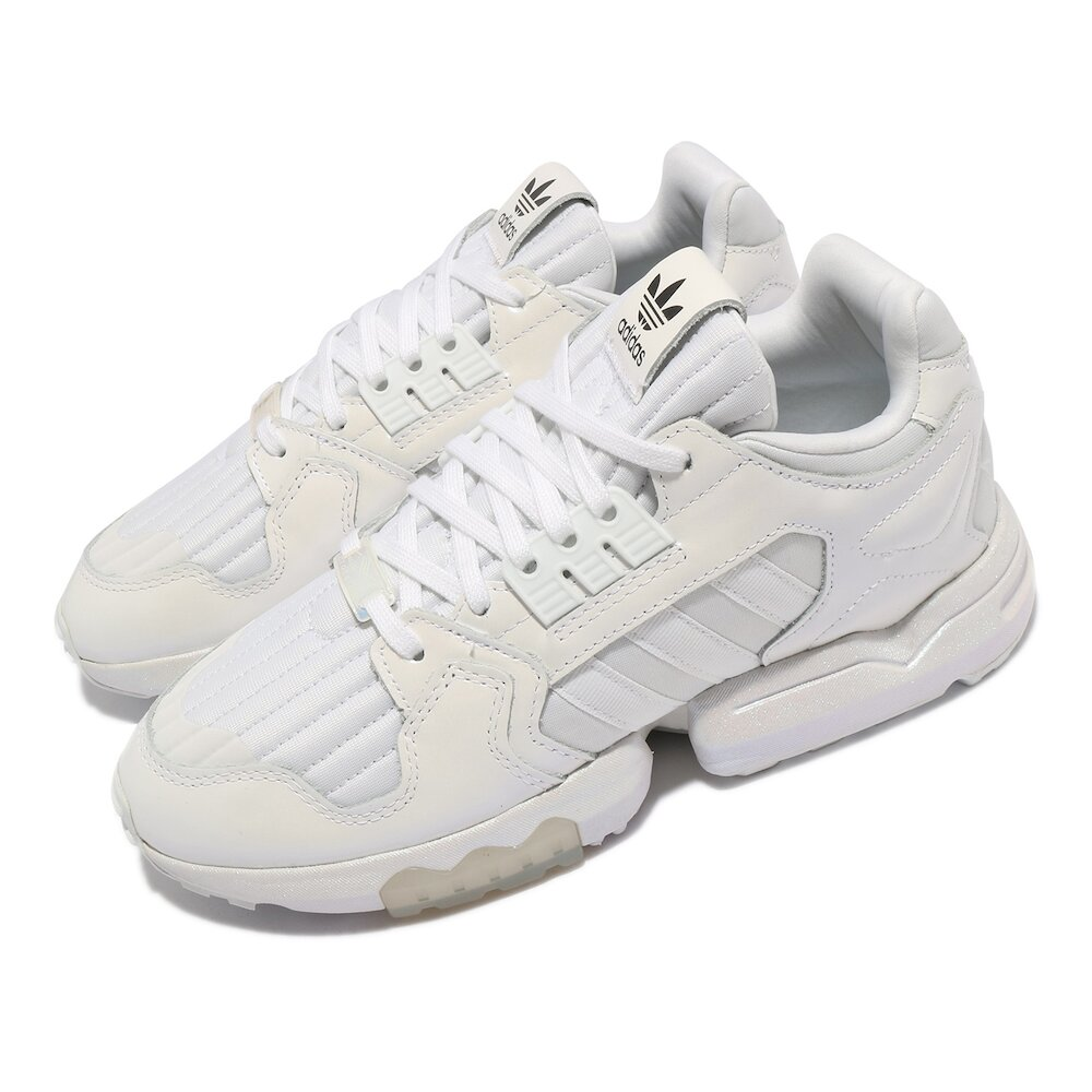 ADIDAS 休閒鞋 ZX Torsion W 運動 女鞋 海外限定 經典款 舒適 簡約 球鞋 穿搭 白 灰 [EG8814]