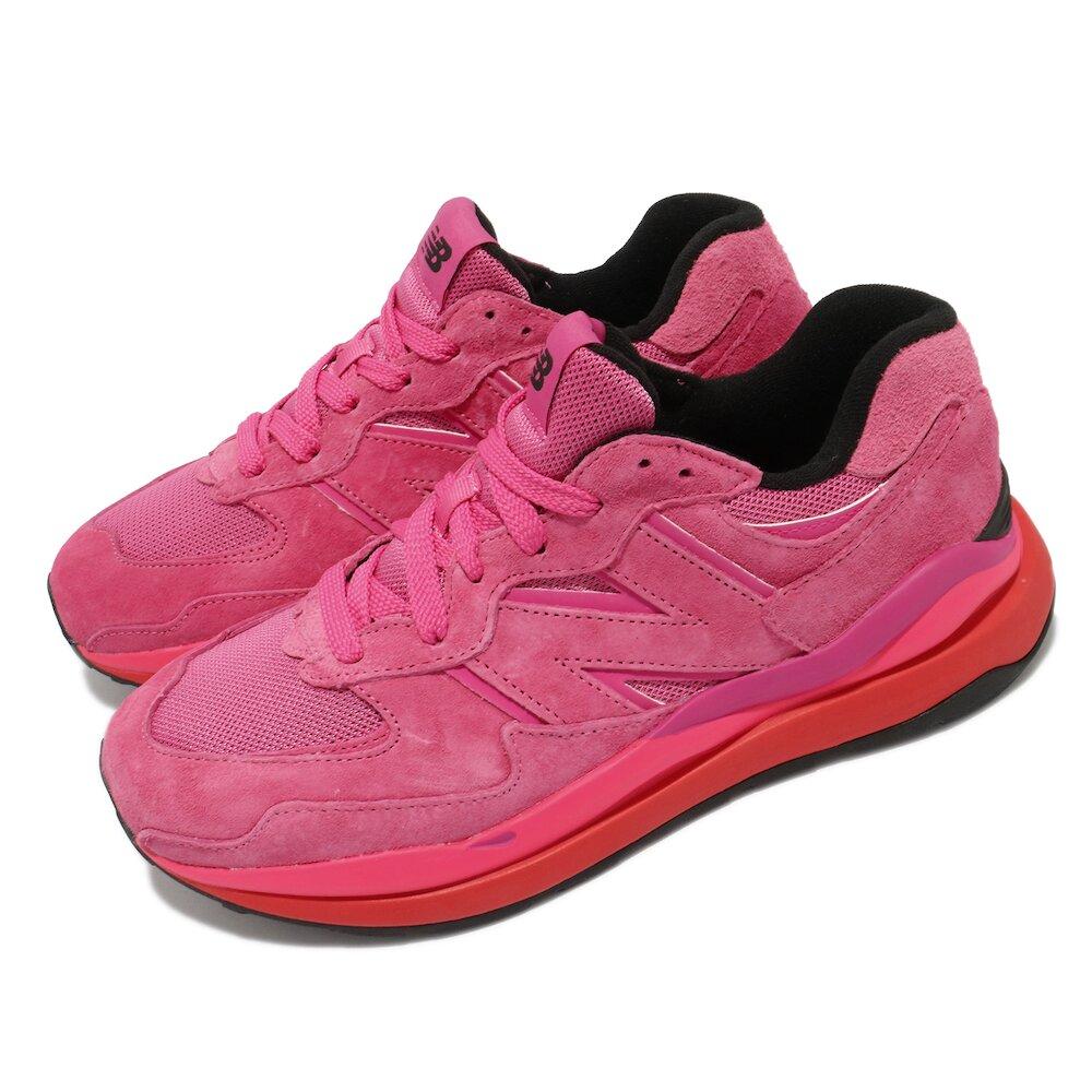 NEW BALANCE 休閒鞋 5740 復古 男女鞋 紐巴倫 大N 情侶鞋 穿搭推薦 桃紅 粉 [M5740VDD]