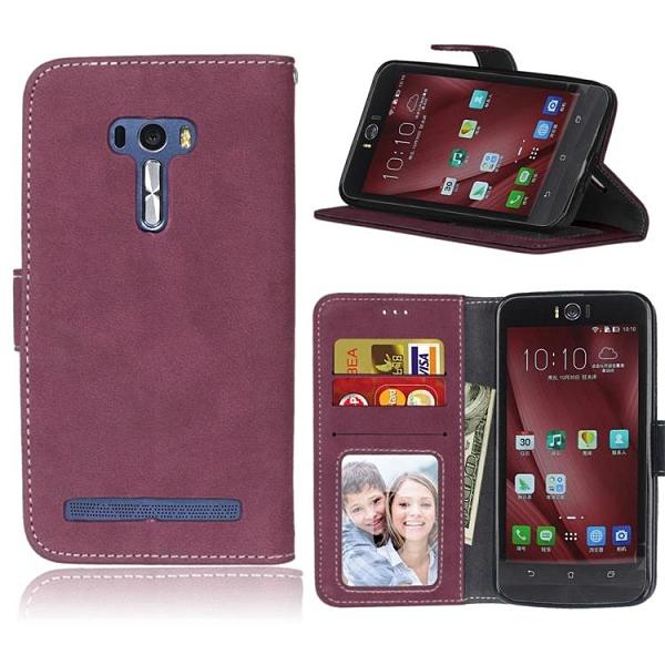 翻蓋皮套 華碩 Asus Zenfone Selfie ZD551KL Z00UD Z00UDH手機殼 磁釦 掀蓋保護殼