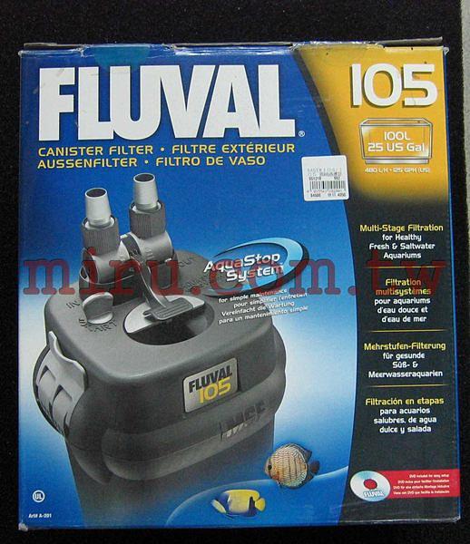 【西高地水族坊】加拿大 赫根 HAGEN FLUVAL 圓桶過濾器(104/105)(保固一年)(免運費)