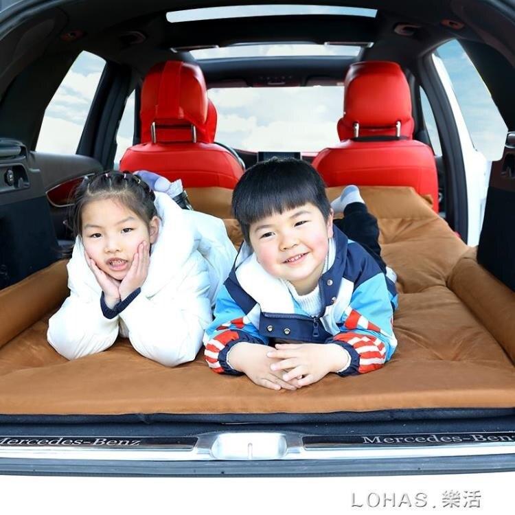 汽車車載充氣床墊越野車SUV專用後備箱車內睡覺旅行床氣墊床睡墊【免運】