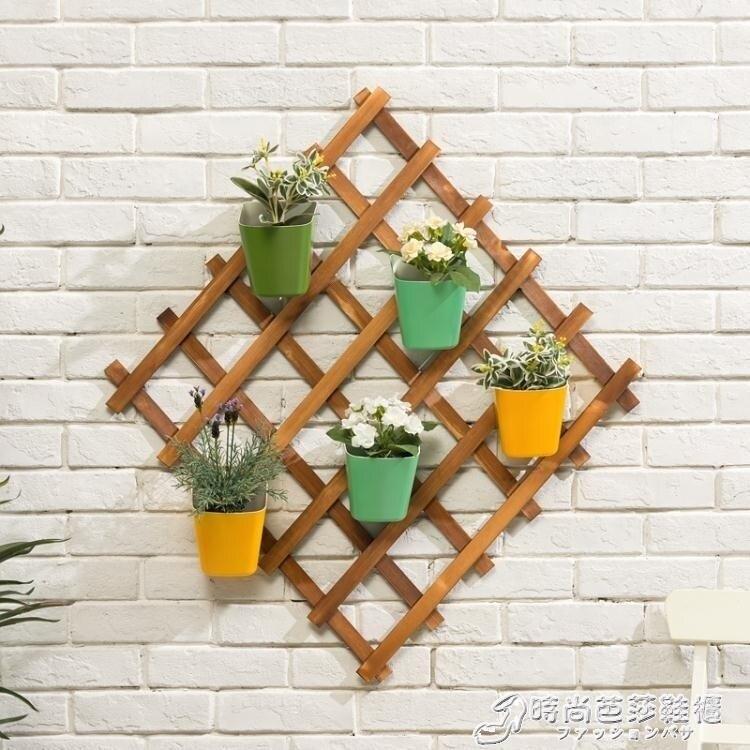 木馬人實木花架子多層落地式多肉陽臺置物裝飾客廳綠蘿盆室內特價