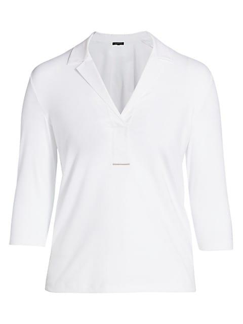 Magda Half Placket Shirt