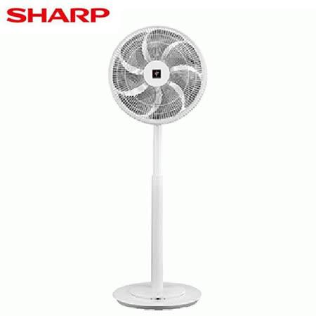 SHARP夏普 14吋 自動除菌離子DC直流馬達立扇DPJ-H14PGB