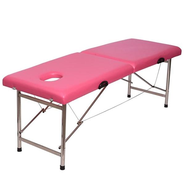 按摩床 美容床美容院專用折疊中醫推拿床理療床帶洞便攜式針灸紋繡按摩床