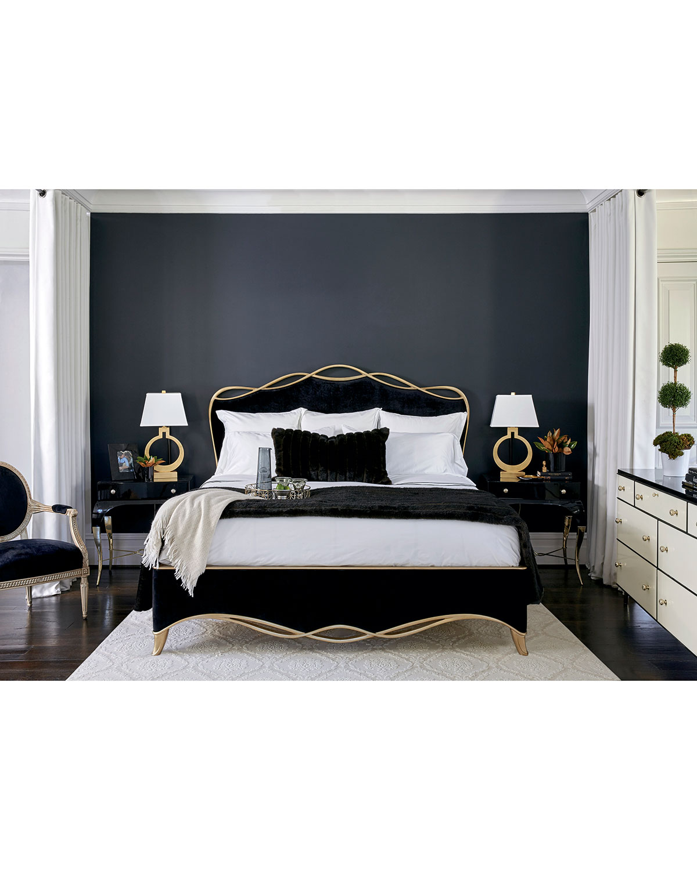 The Ribbon King Bed