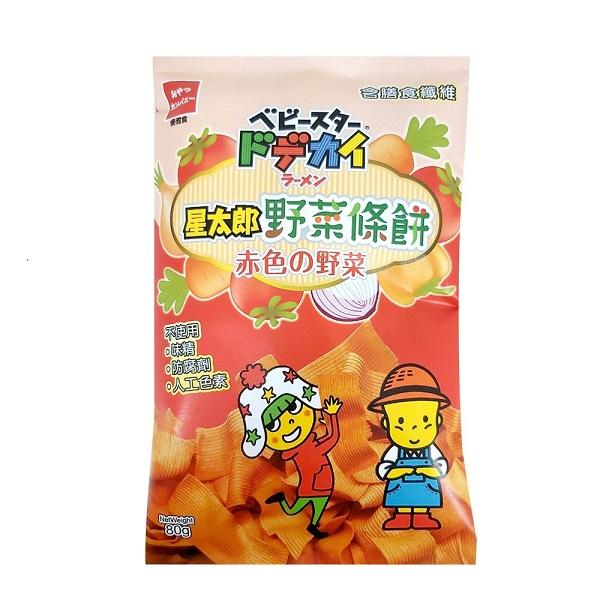 點數15%★食品飲料滿千–星太郎野菜條餅-紅色野菜80g 【康是美】