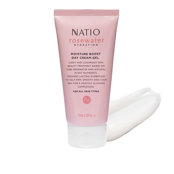 NATIO玫瑰精粹保濕水凝霜