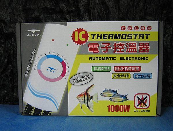 【西高地水族坊】ADP IC電子控溫器1000W-附贈MR.AQUA 350W防爆型石英管