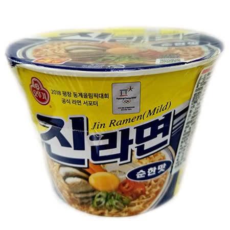 韓國不倒翁金拉麵原味碗麵110g