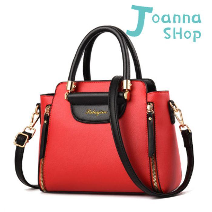 上班族LOVE雙色手提斜背包3-Joanna Shop