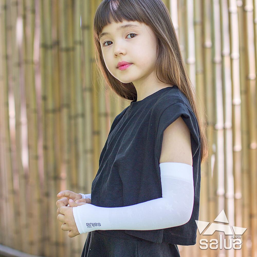 salua 韓國原裝兒童雪花防曬袖套