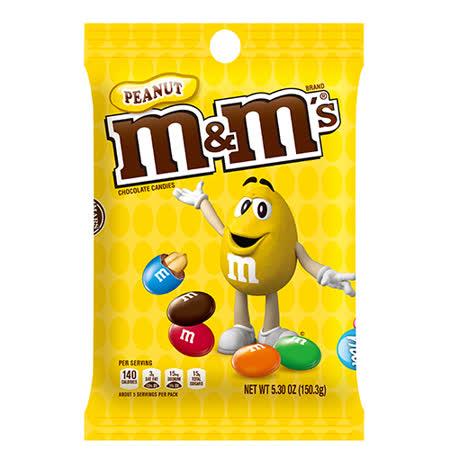 M&MS花生巧克力150G