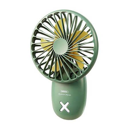 Remax 迷你掛繩手持風扇F37-GE-綠