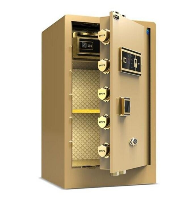 大一全鋼保險櫃家用大型 入牆指紋密碼保險箱辦公防盜保管櫃床頭入衣櫃快速出貨
