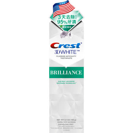 Crest專業鑽白牙膏-鑽感薄荷116g