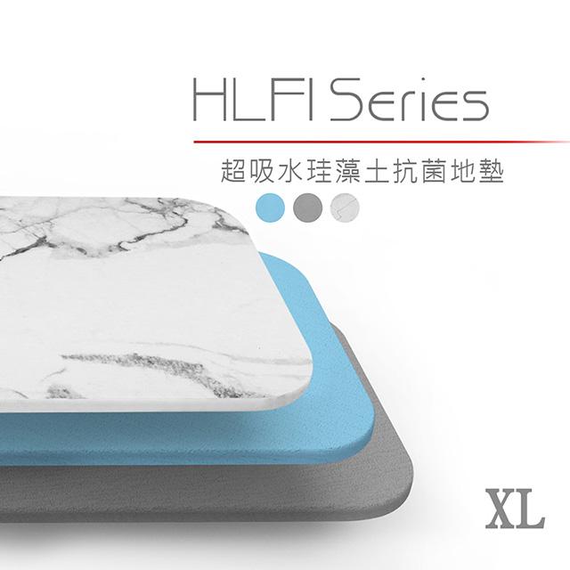 免運 DIKE 第四代無毒珪藻土地墊-XL(中35×45cm) HLF110GY/BU檢驗合格 【2入】