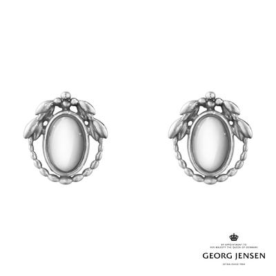Georg Jensen 喬治傑生 2021 年度 HERITAGE 硫化純銀銀球耳夾