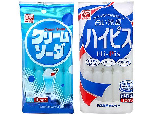 光武製果~蘇打乳酸風味/Hi-Pis 飲料棒(630ml) 款式可選【DS001263】