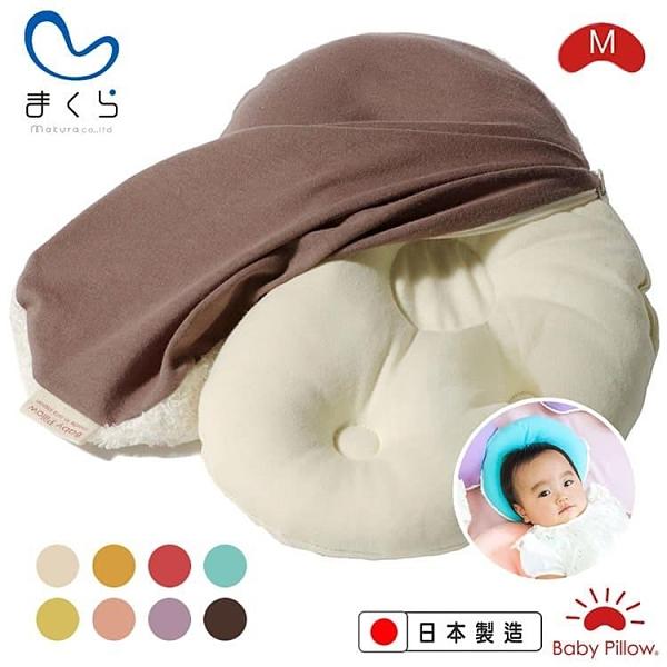 【南紡購物中心】MAKURA【Baby Pillow】水洗豆豆枕專用枕套M