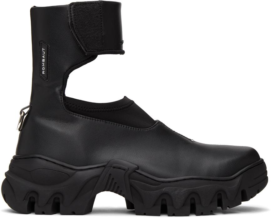 Rombaut 黑色 Broccaccio II Lite Airflow 踝靴