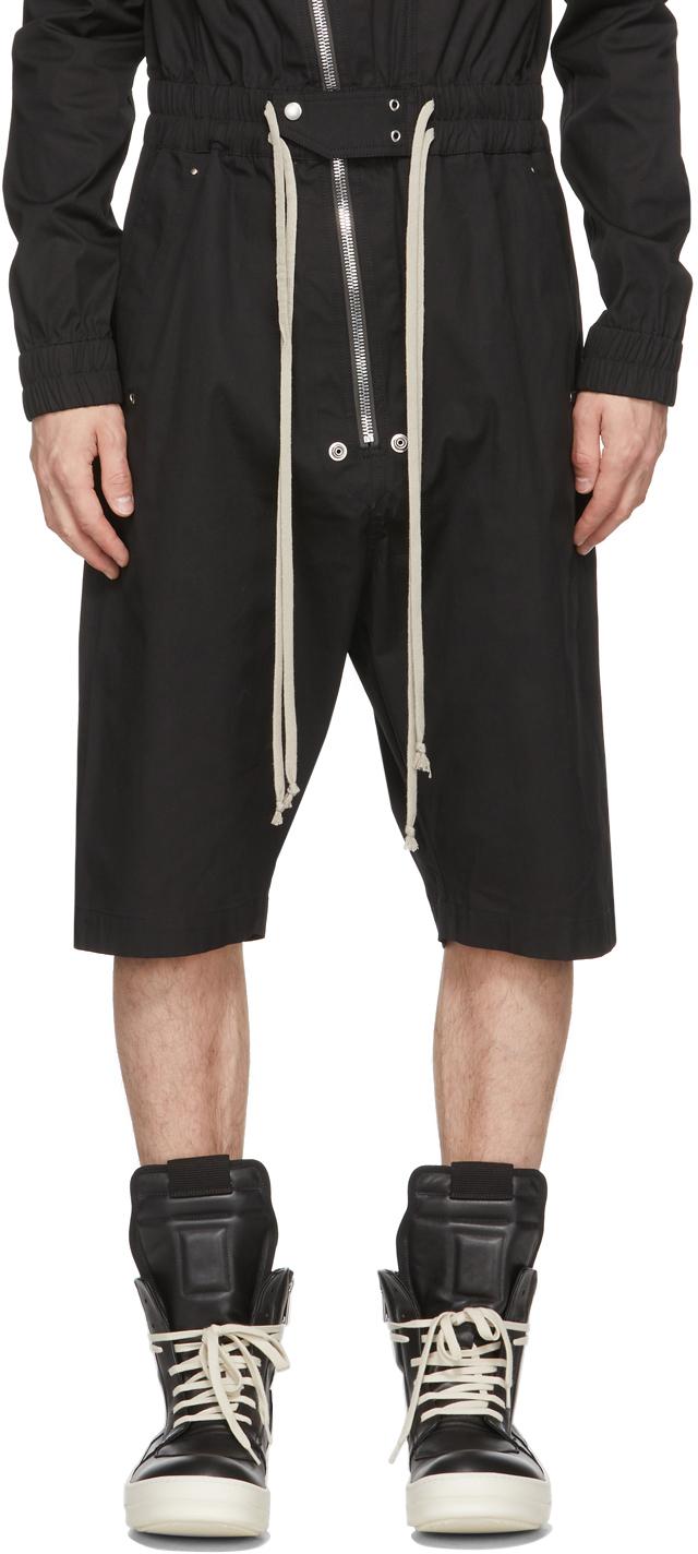 Rick Owens 黑色 Gary 连身裤