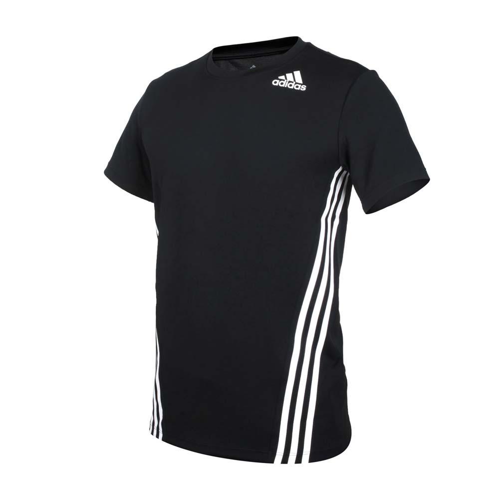 ADIDAS 男短袖T恤-亞規 吸濕排汗 慢跑 路跑 愛迪達 上衣 黑白