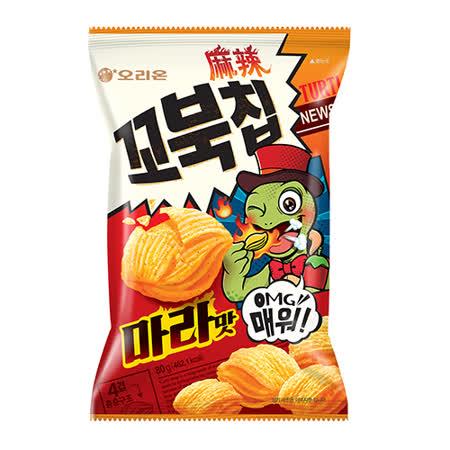 好麗友烏龜玉米脆片-麻辣味80G