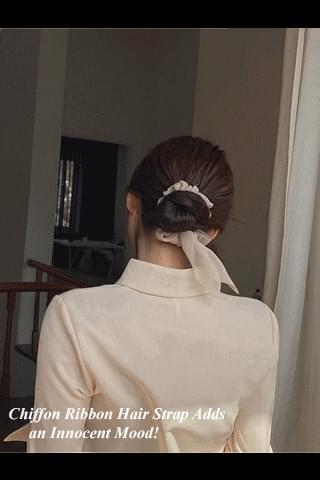 韓國空運 - Salang Chiffon Hair Strap 配飾
