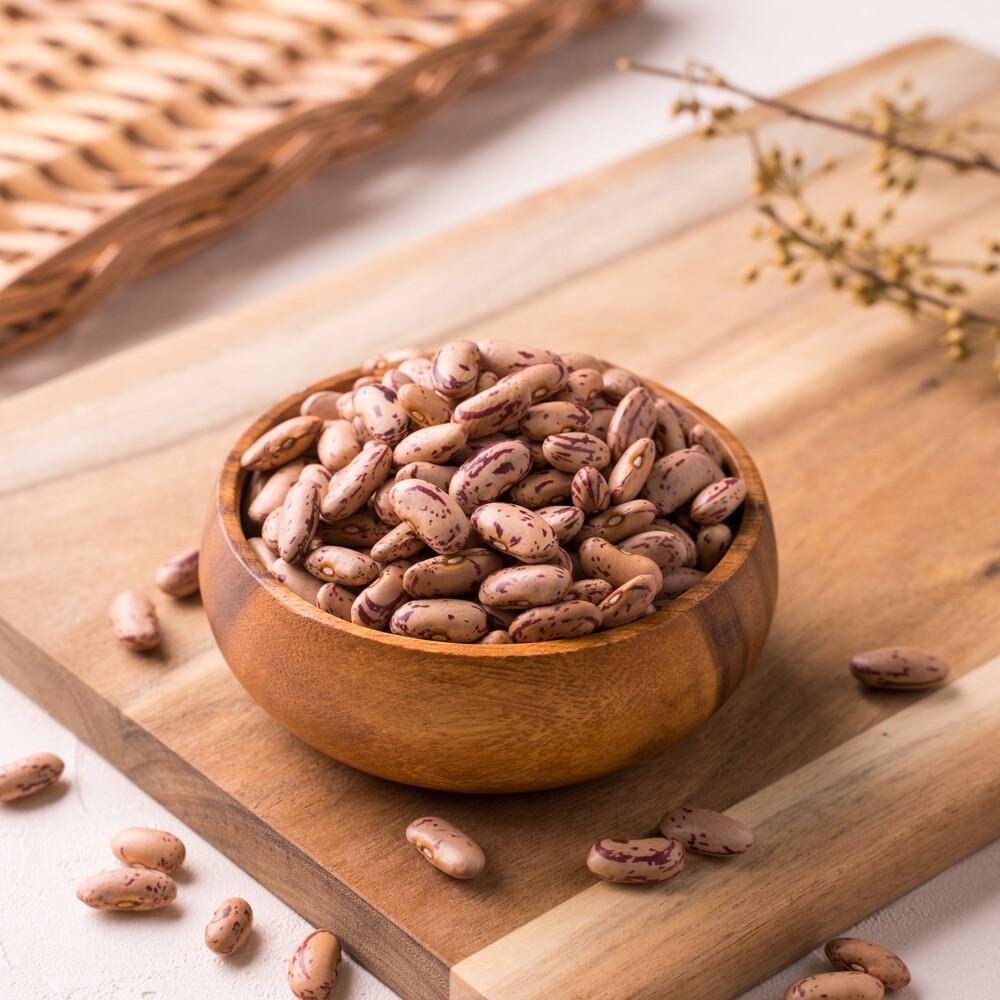 花豆(speckled kidney beans) 500g 大紅豆 蜜花豆 八寶飯  [大島糧品]