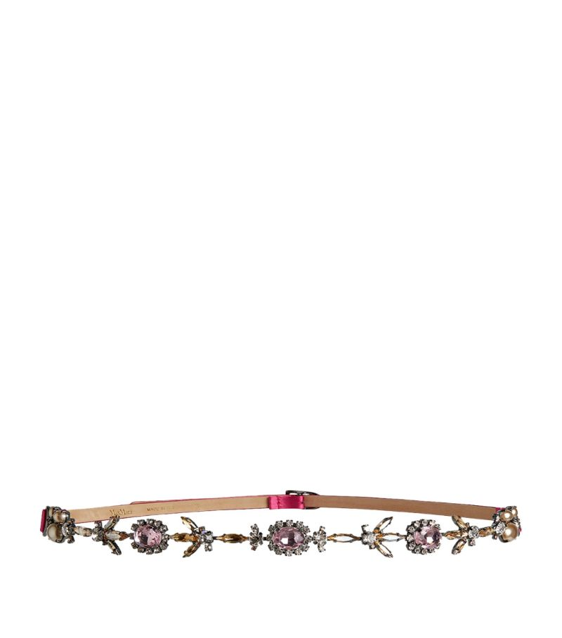 Max Mara Embellished Belt