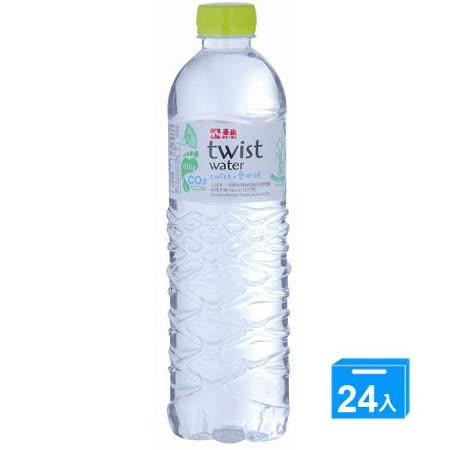 泰山環保包裝水TWISTWATER600ML*24
