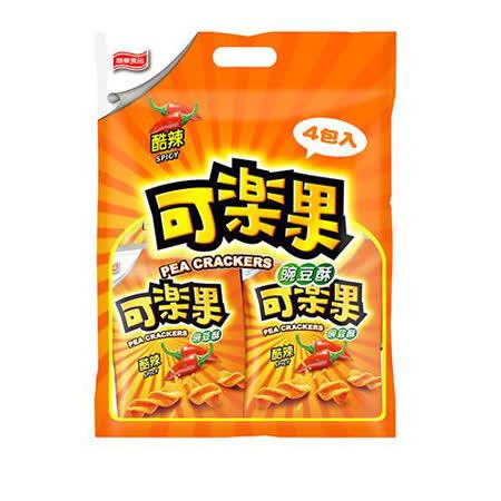可樂果豌豆酥-辣味組合包4入
