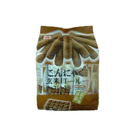 北田蒟蒻糙米捲-巧克力口味160g