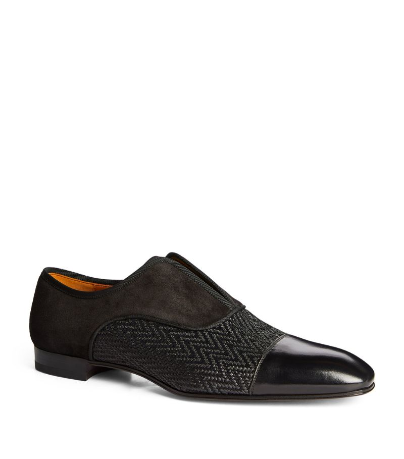 Christian Louboutin Alpha Male Suede Loafers
