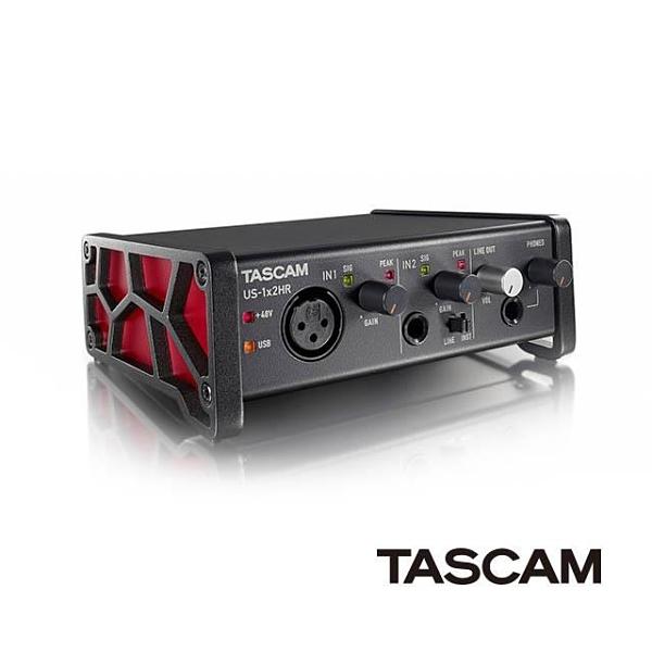 【南紡購物中心】TASCAM US-1X2HR 錄音介面 公司貨