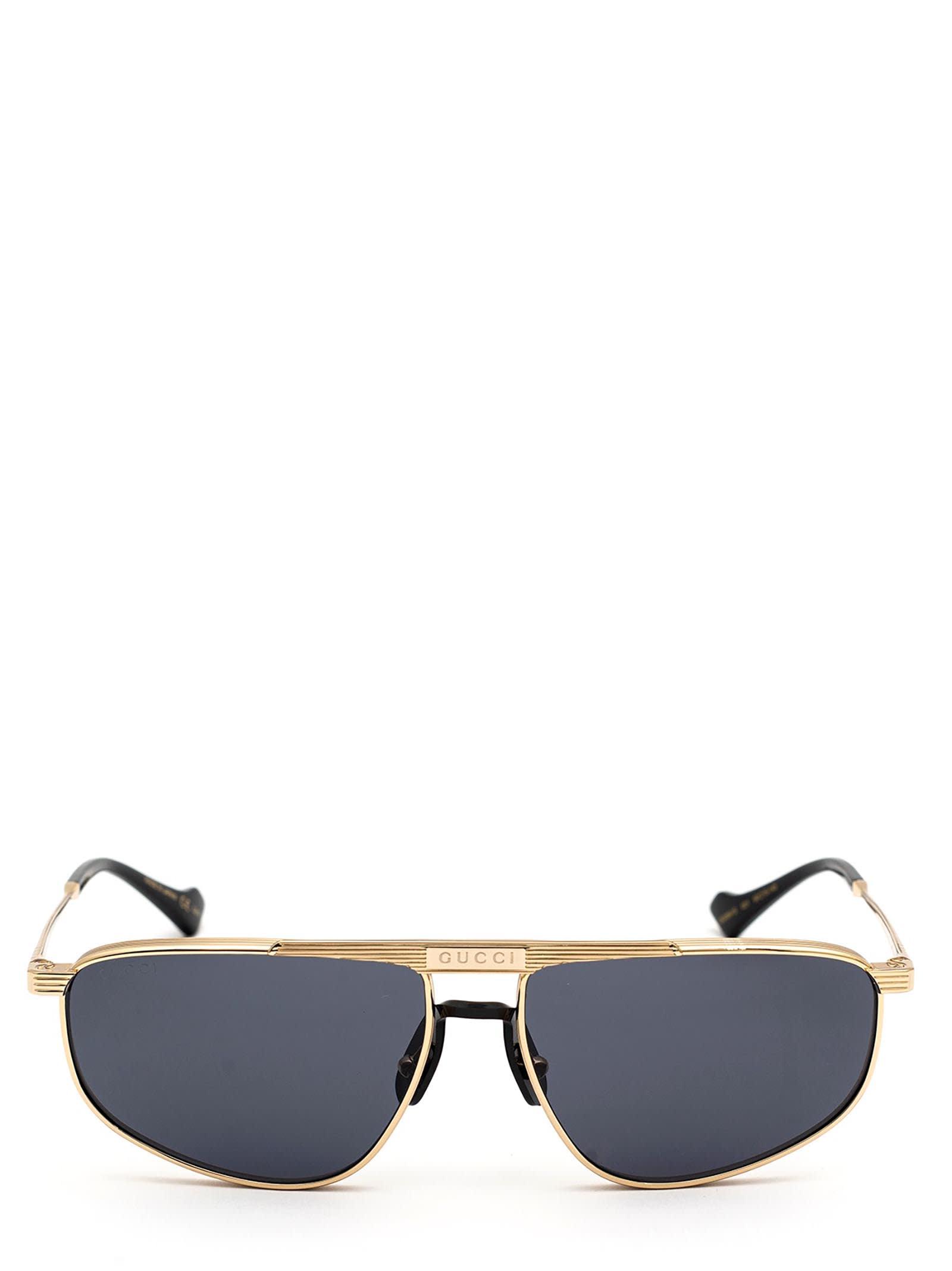 Gucci Gucci Gg0841s Gold Sunglasses