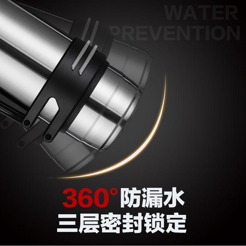 1.2L-4L大容量保溫壺304不銹鋼保溫杯男家用暖水瓶戶外車載旅行壺【艾莎嚴選】
