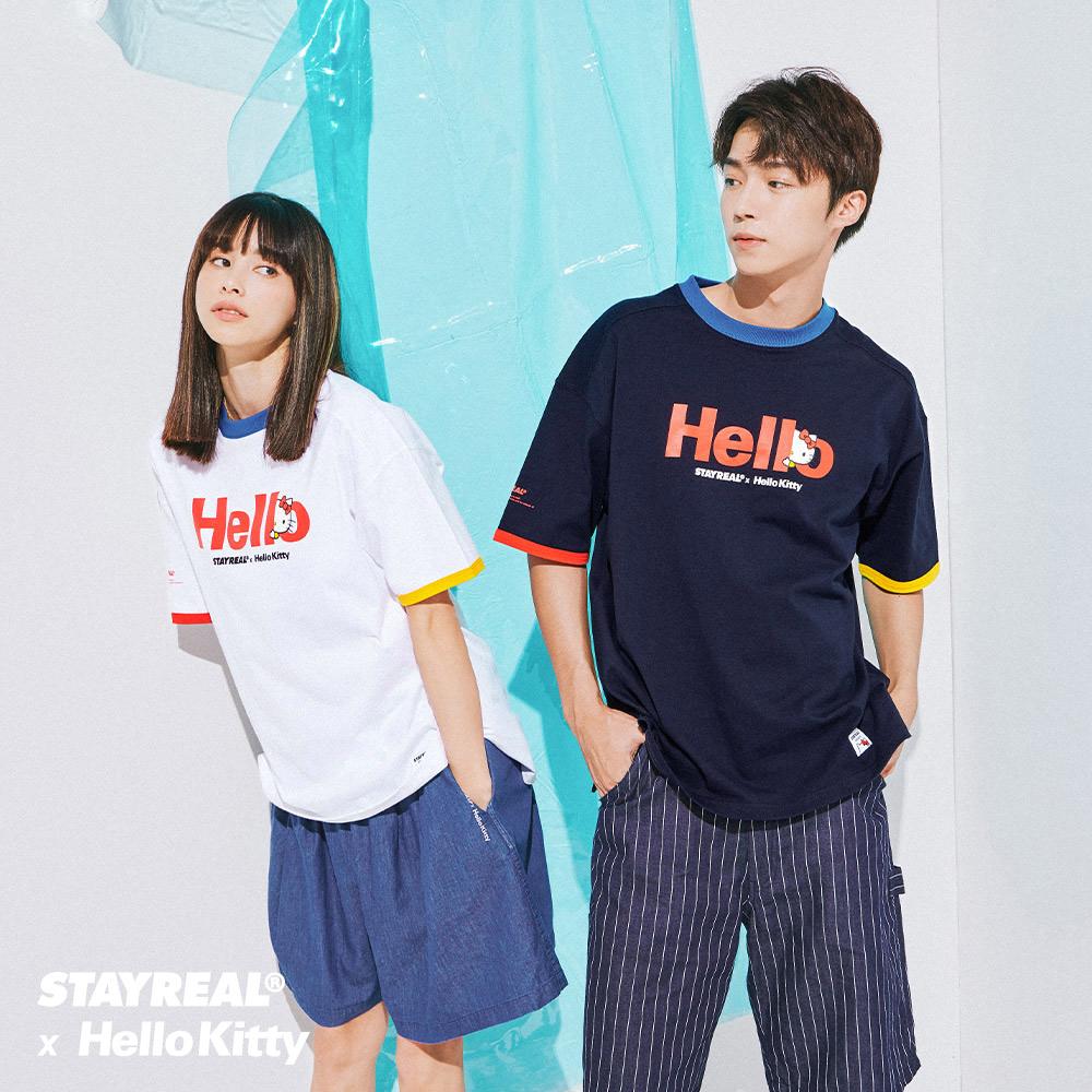 STAYREAL x Hello Kitty 凱蒂在哈囉T
