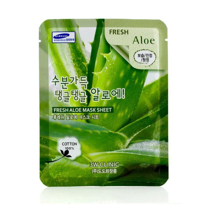 3W CLINIC - 面膜 - 蘆薈Mask Sheet - Fresh Aloe