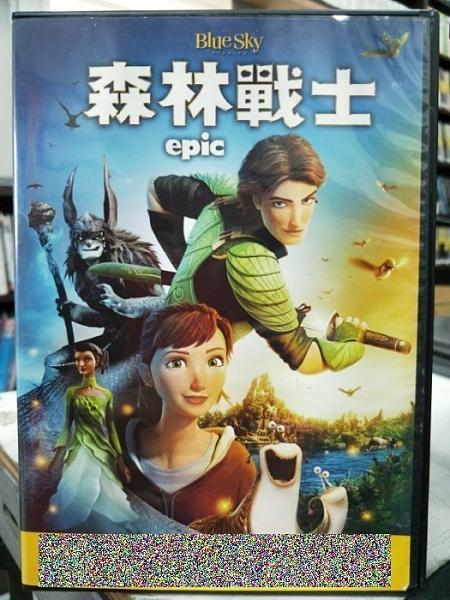 挖寶二手片-0B02-229-正版DVD-動畫【森林戰士】-冰原歷險記 里約大冒險製作群(直購價)