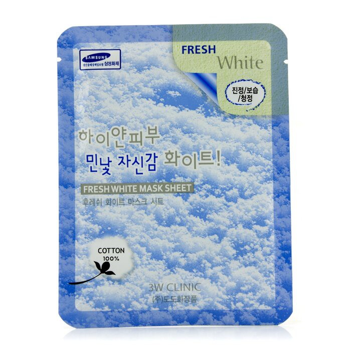 3W CLINIC - 面膜 - 美白Mask Sheet - Fresh White