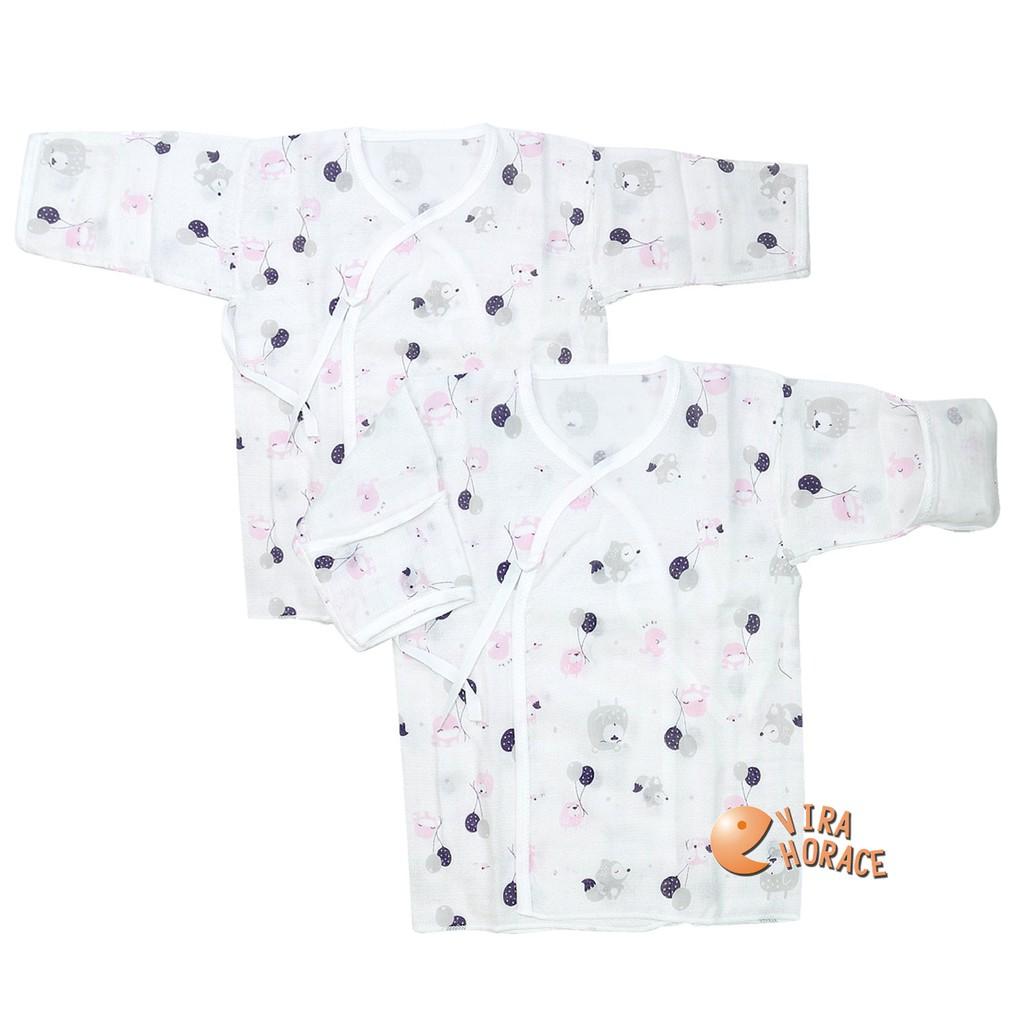KU.KU 酷咕鴨夢想氣球反手袖紗布肚衣加大(2入裝)不含甲醛、螢光劑、無異味,給寶寶最親膚、最天然、無負擔的貼身呵護
