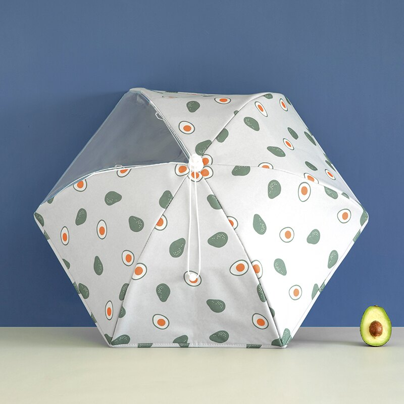 家用餐桌罩 飯菜保溫罩子冬季剩菜食物罩 家用菜罩折疊可視飯菜罩