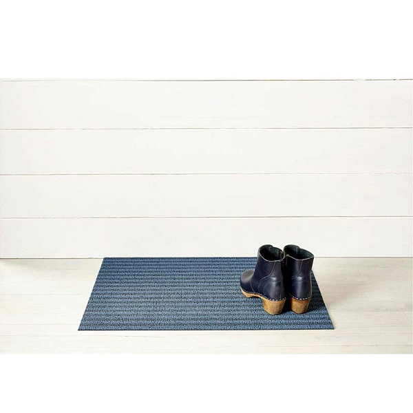 美Chilewich-Breton Stripe系列地墊-46X71CM-藍莓