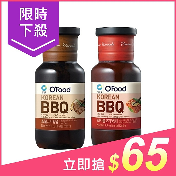 韓國 清淨園 醃烤調味醬(280g) 原味/辣味 款式可選【小三美日】$75