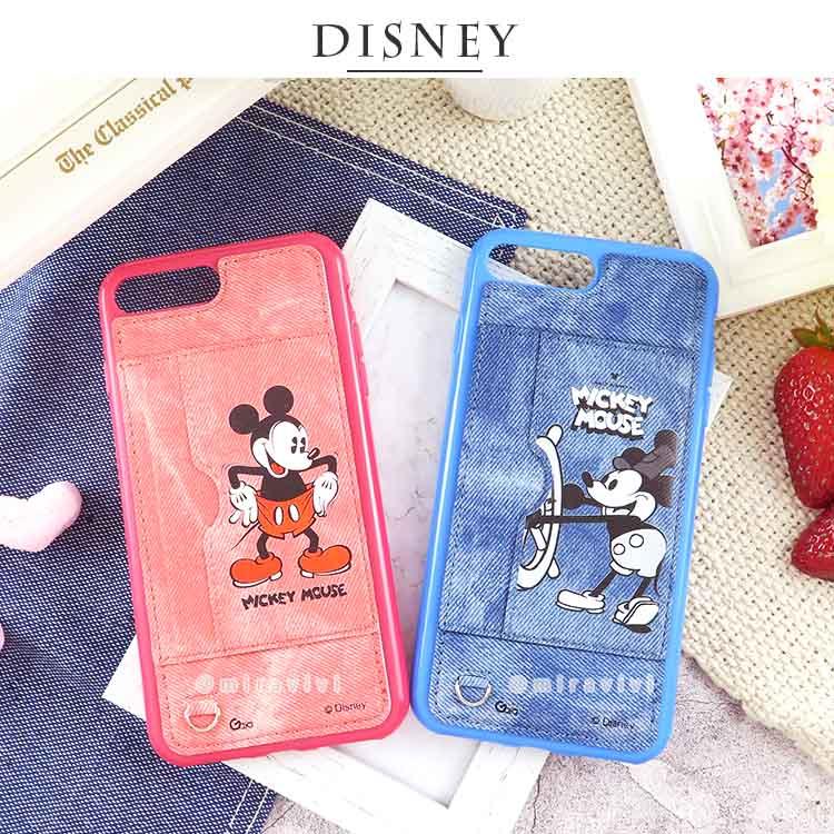 Disney迪士尼 米奇90週年牛仔立架保護殼套 iPhone系列