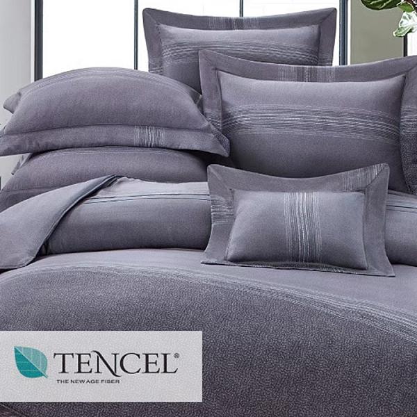 【JennySilk名床】席哈諾.100%天絲.60支.超柔觸感.標準雙人床罩組